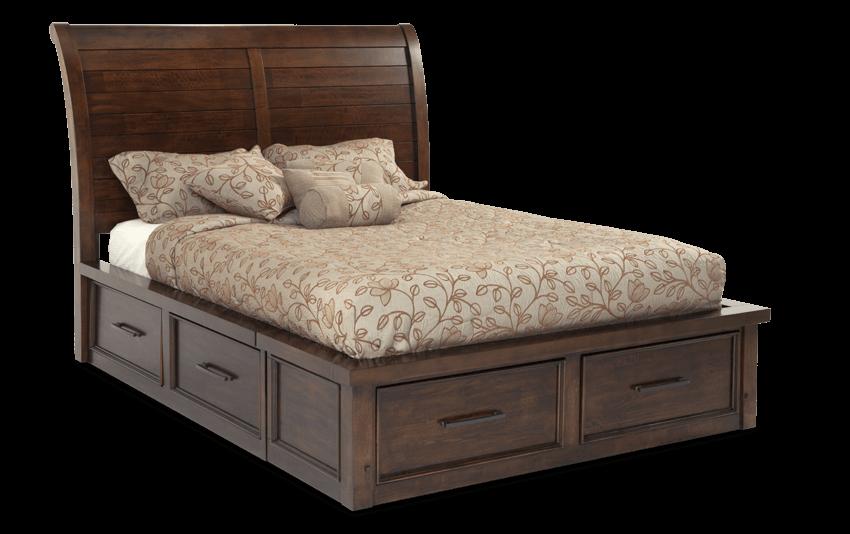 hudson storage bed  bobs