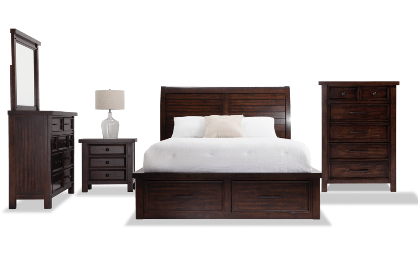 Hudson Bedroom Set | Bobs.com