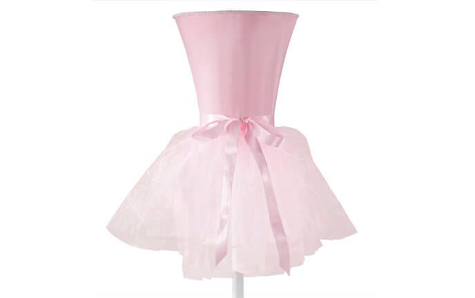 Pink Ballerina Floor Lamp