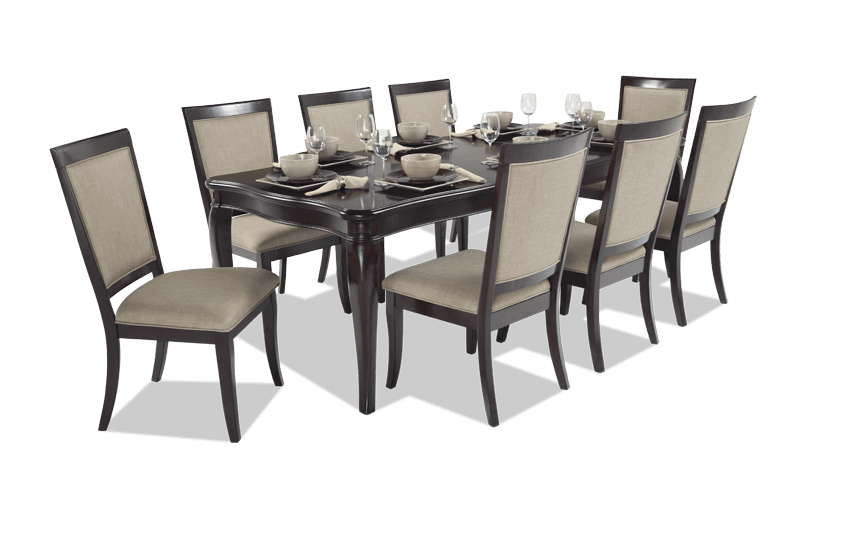 Gatsby 9 Piece Dining Set With Side Chairs