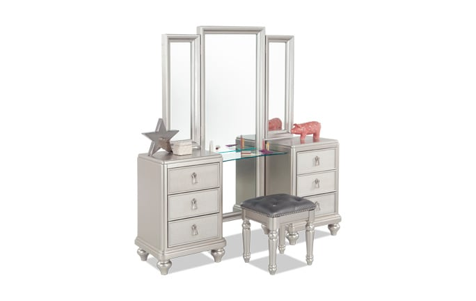 Diva Vanity Dresser & Stool