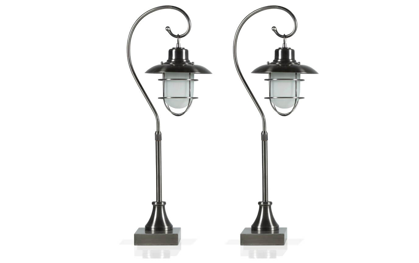 Set of 2 Lantern Lamps