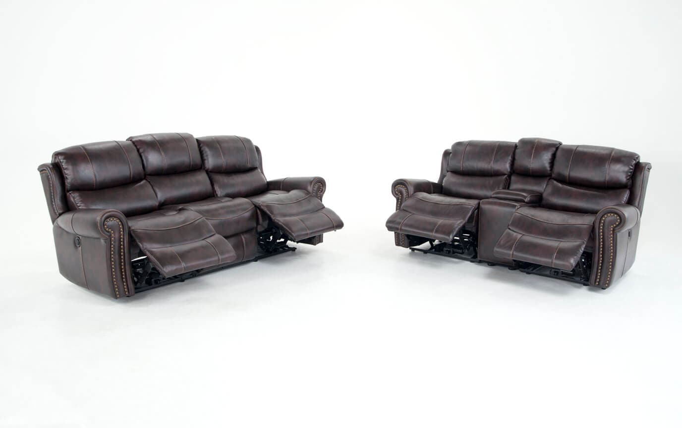 Lannister Power Reclining Sofa & Console Loveseat