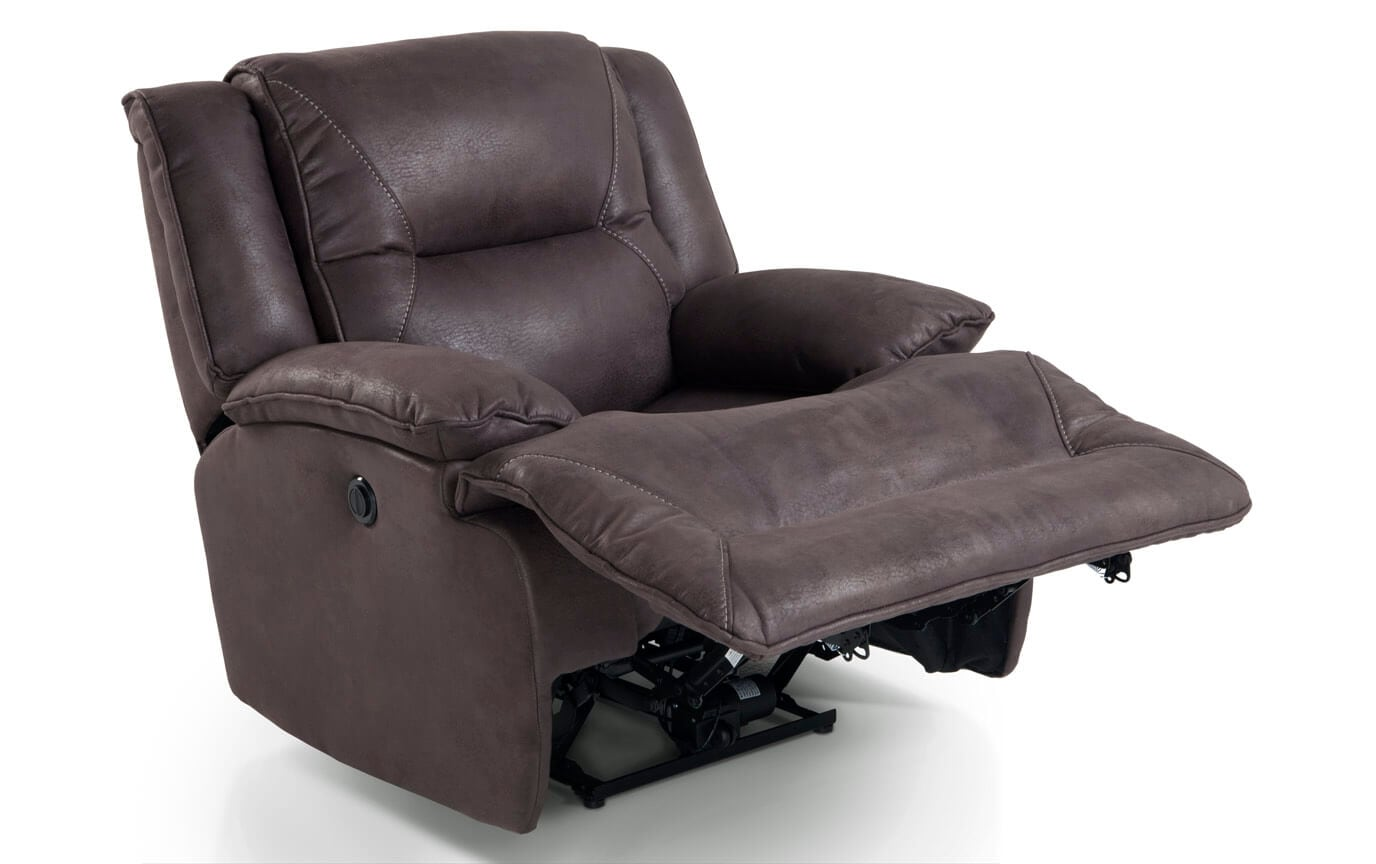 Jennings Gray Power Recliner
