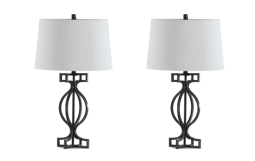 Set of 2 Wellington Lamps