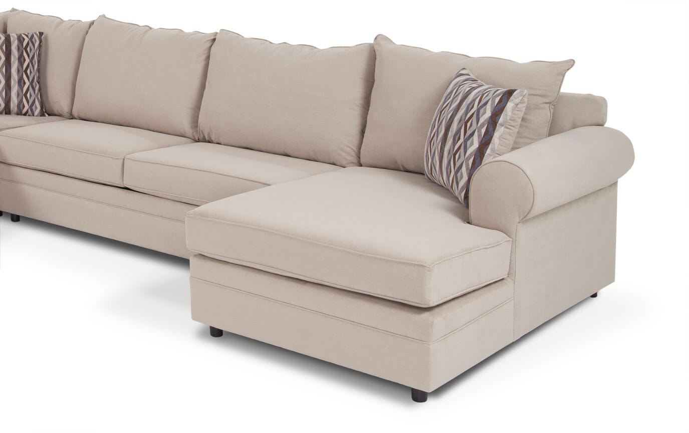 Venus Dune 4 Piece Left Arm Facing Sectional