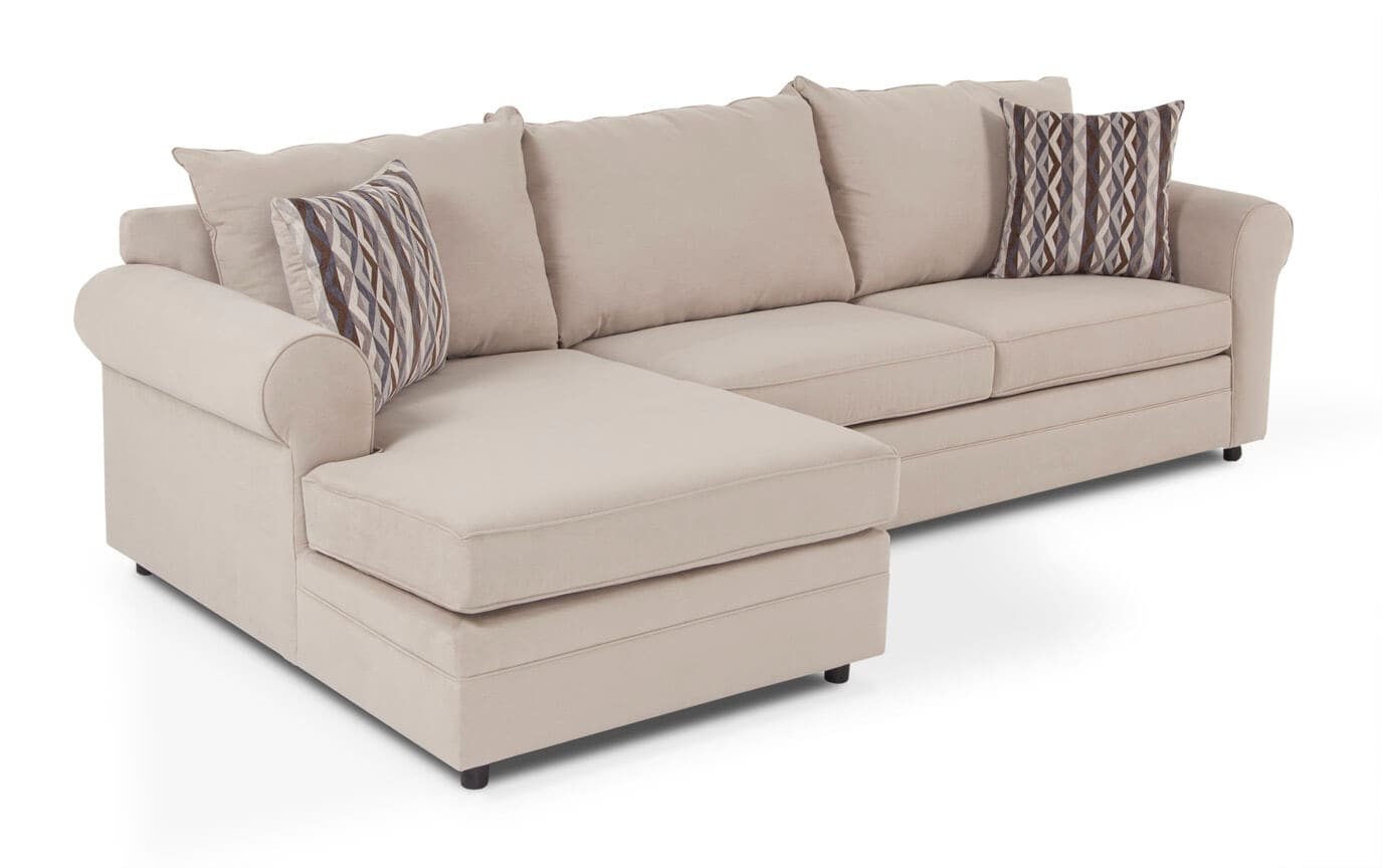 Sectional Sofas Bobs Charisma 2 Piece Right Arm Facing