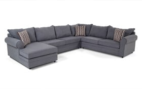 Venus 4 Piece Right Arm Facing Sectional