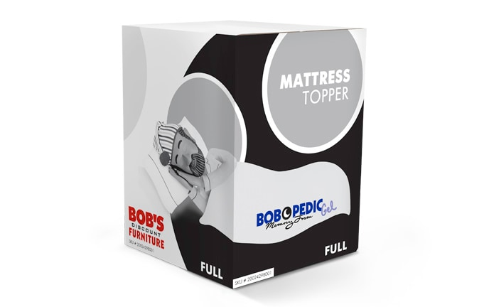 Bob-O-Pedic Gel Full Mattress Topper