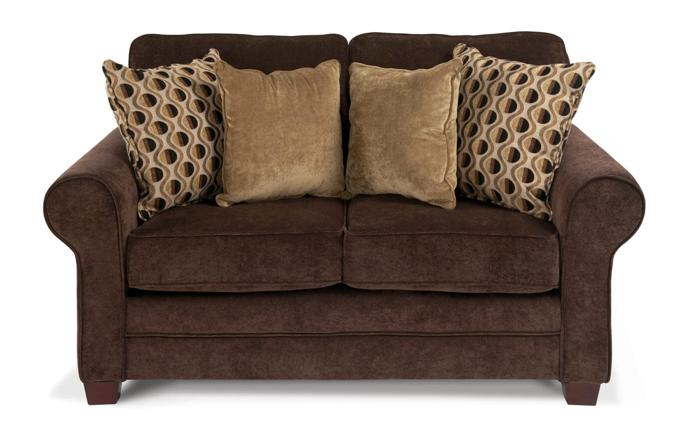 Maggie II Chocolate Loveseat