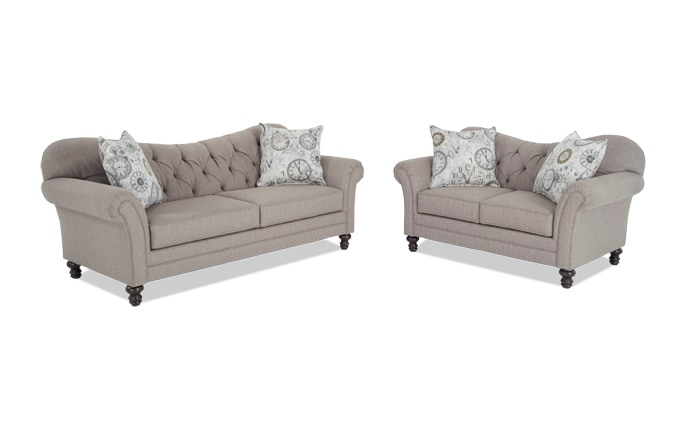 Timeless Sofa & Loveseat