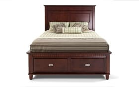 Spencer Full Cherry Storage Bed