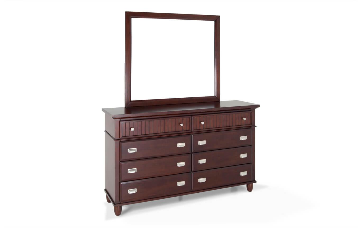 Spencer Storage Queen Cherry Bedroom Set