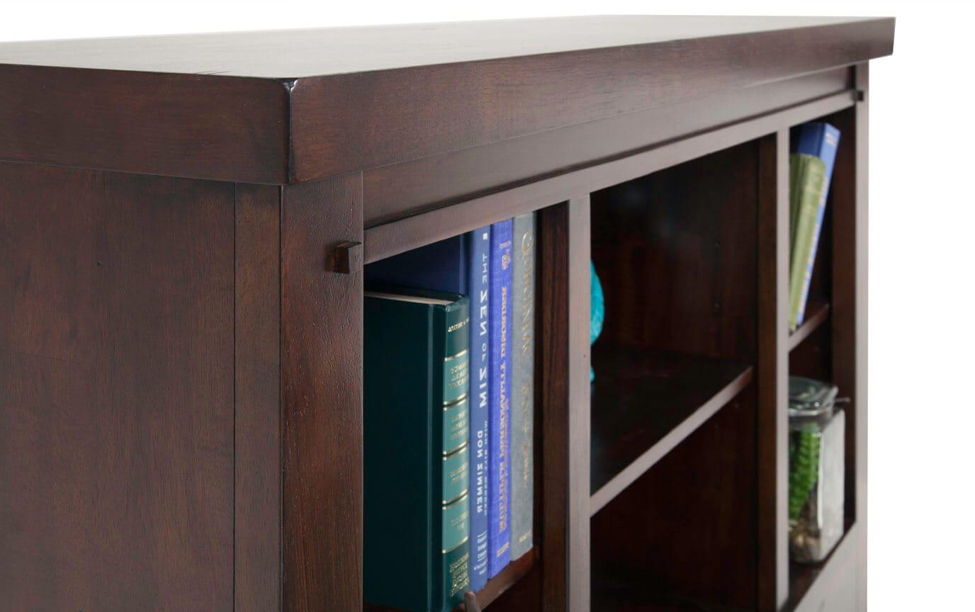 Hudson Youth Full Bookcase Headboard
