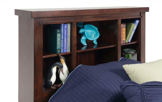 Hudson Youth Bookcase Headboard