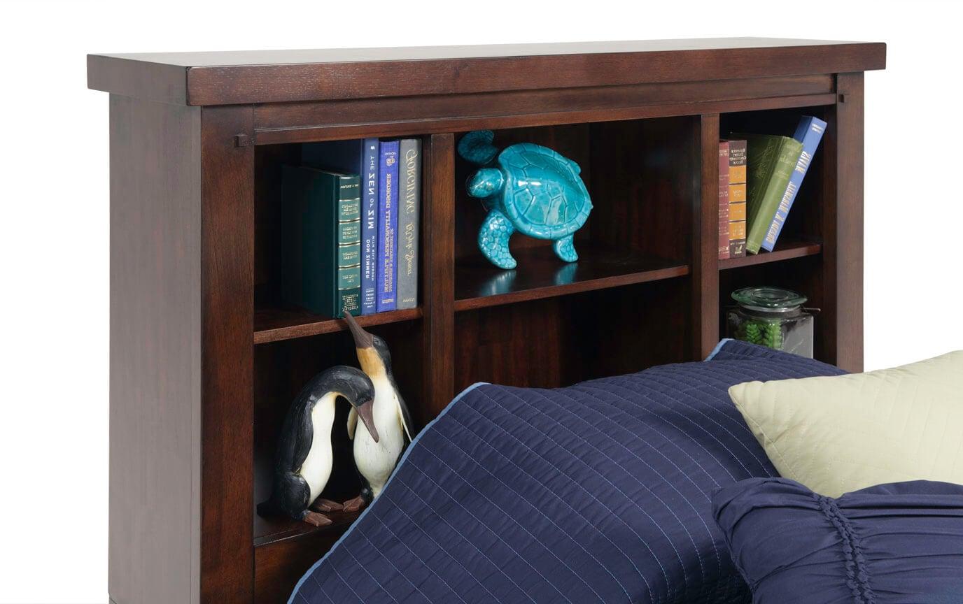 Hudson Youth Twin Bookcase Headboard