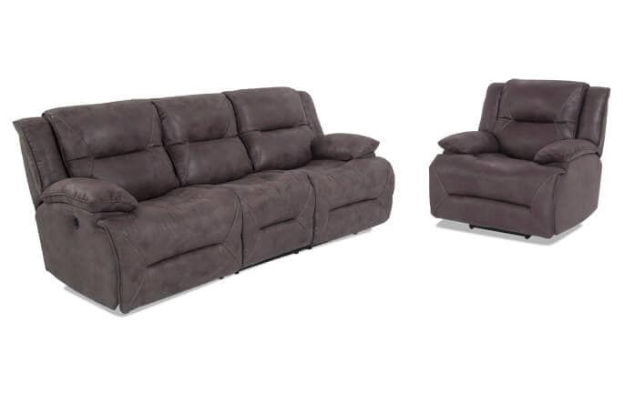 Jennings Power Reclining Sofa & Recliner