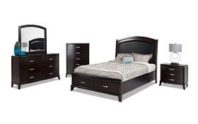Jason Queen Storage Bedroom Set
