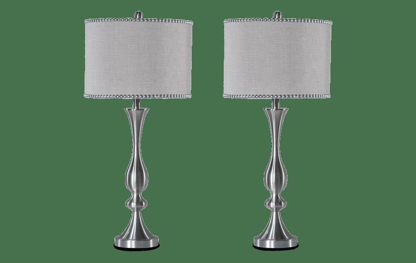Set of 2 Chelsea Nailhead Lamps