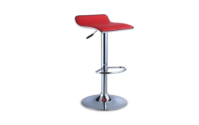 Backless Red Bar Stool