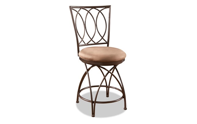 Big & Tall Bronze Counter Stool