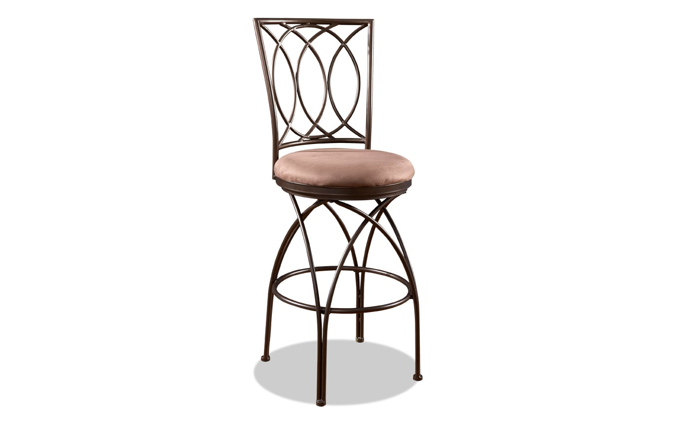 Big & Tall Bronze Bar Stool