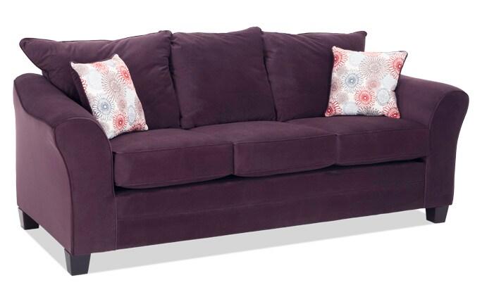 Adrina Plum Sofa