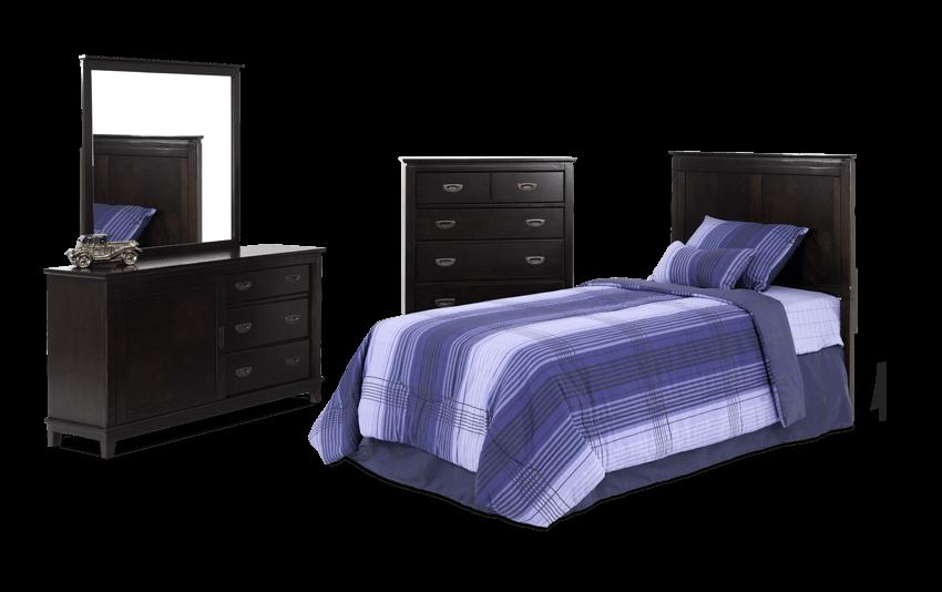 Chadwick Full Espresso Panel Bedroom Set