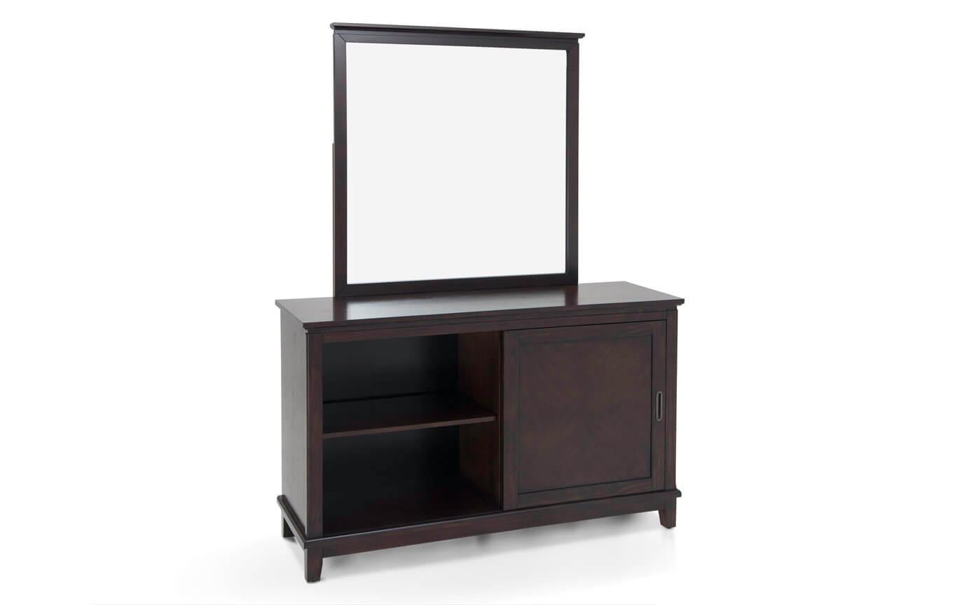 Chadwick Espresso Dresser & Mirror