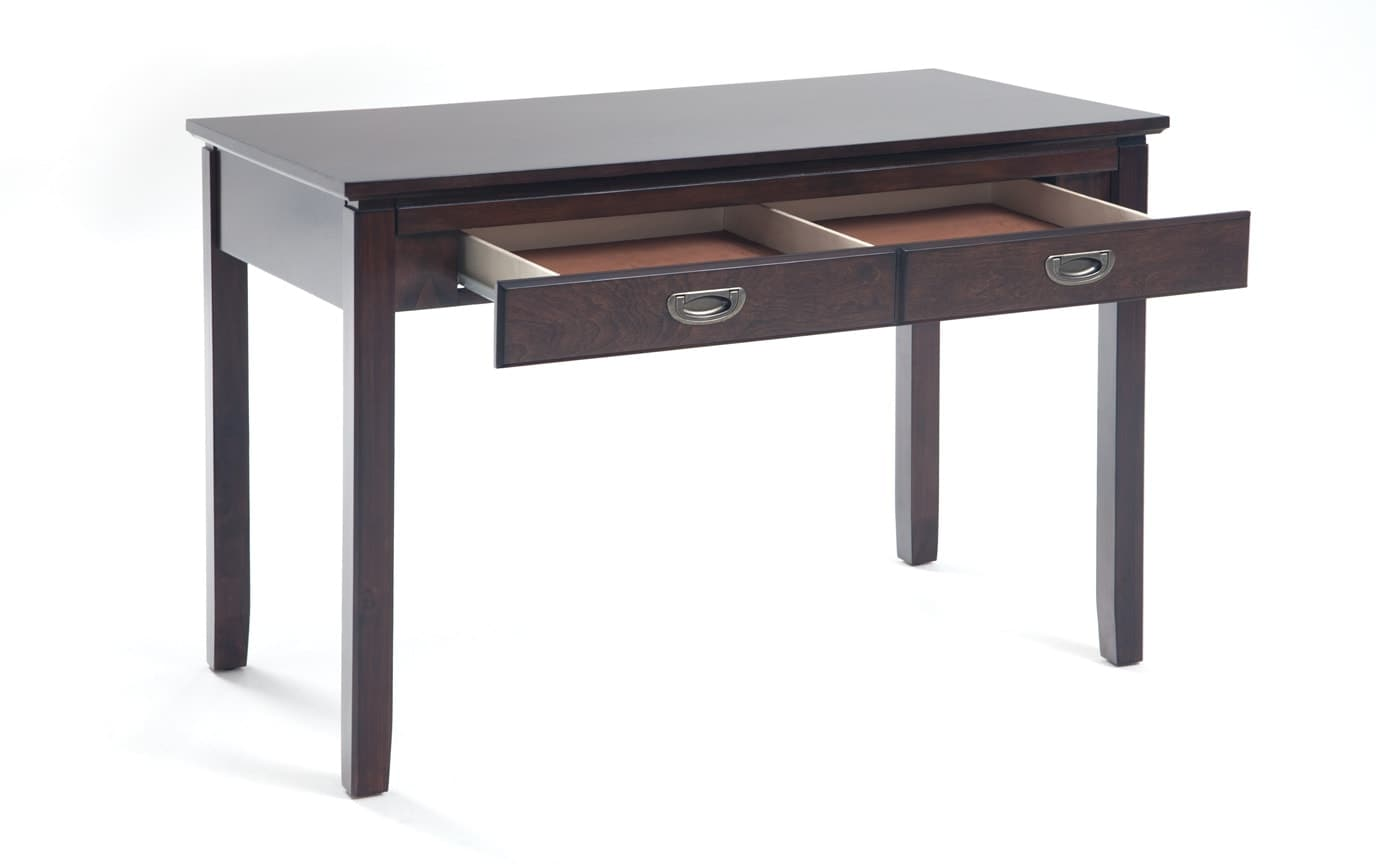 Chadwick Twin Espresso Panel Bedroom Set With Desk
