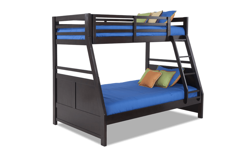 Chadwick Twin/Full Espresso Bunk Bed