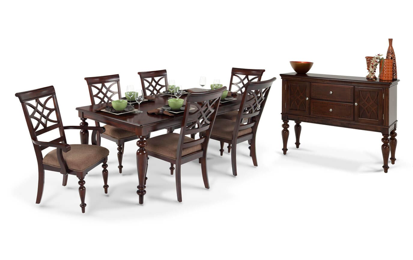 Woodmark 8 Piece Dining Set with Sideboard