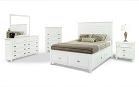Spencer Storage Bedroom Set
