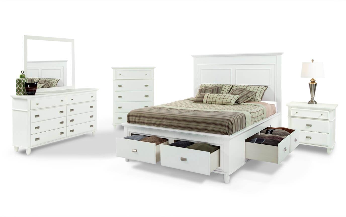 Spencer Storage Bedroom Set Bobs Com