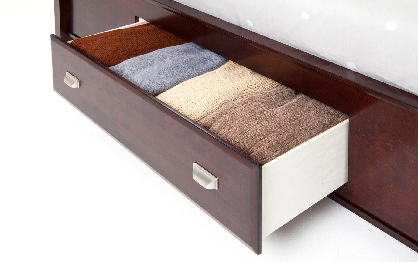 Spencer Storage Twin Cherry Bedroom Set