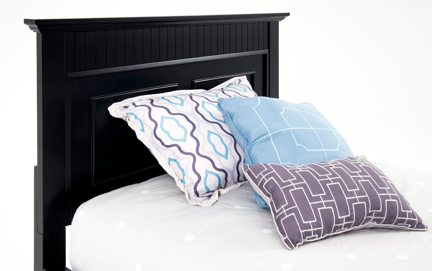Spencer Storage Twin Black Bedroom Set