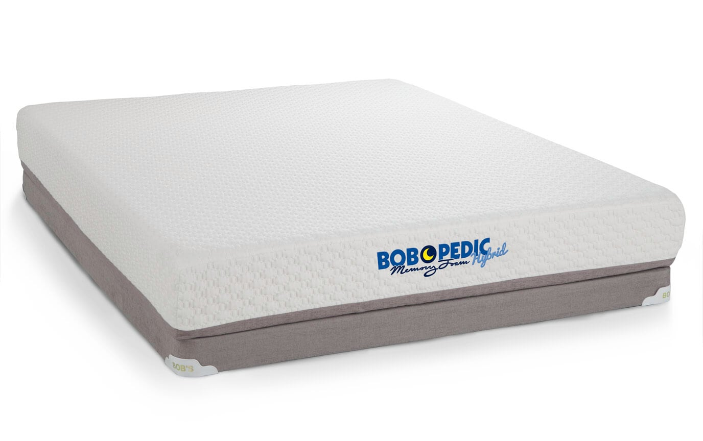 Bob-O-Pedic 9 Hybrid Mattress Set