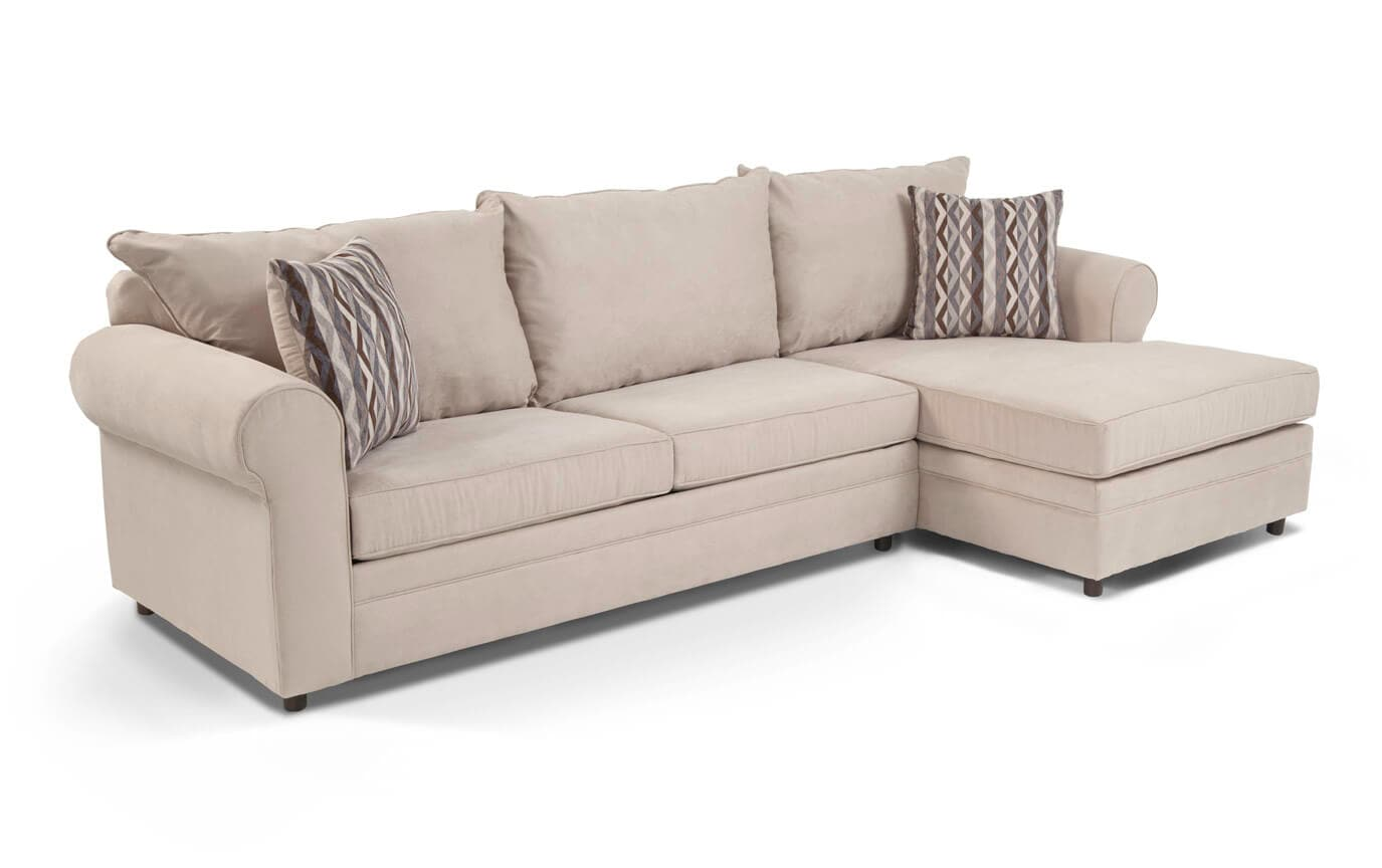 Venus 2 Piece Left Arm Facing Innerspring Full Sleeper Sectional