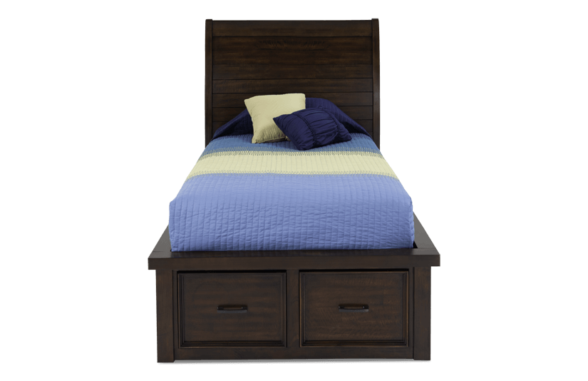 Hudson Youth Sleigh Storage Bed