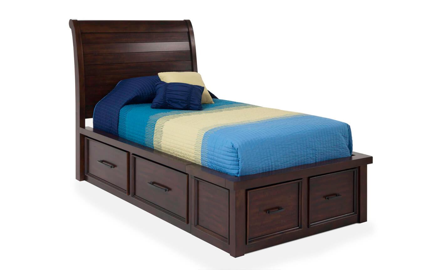 Hudson Youth Full Sleigh Bedroom Set