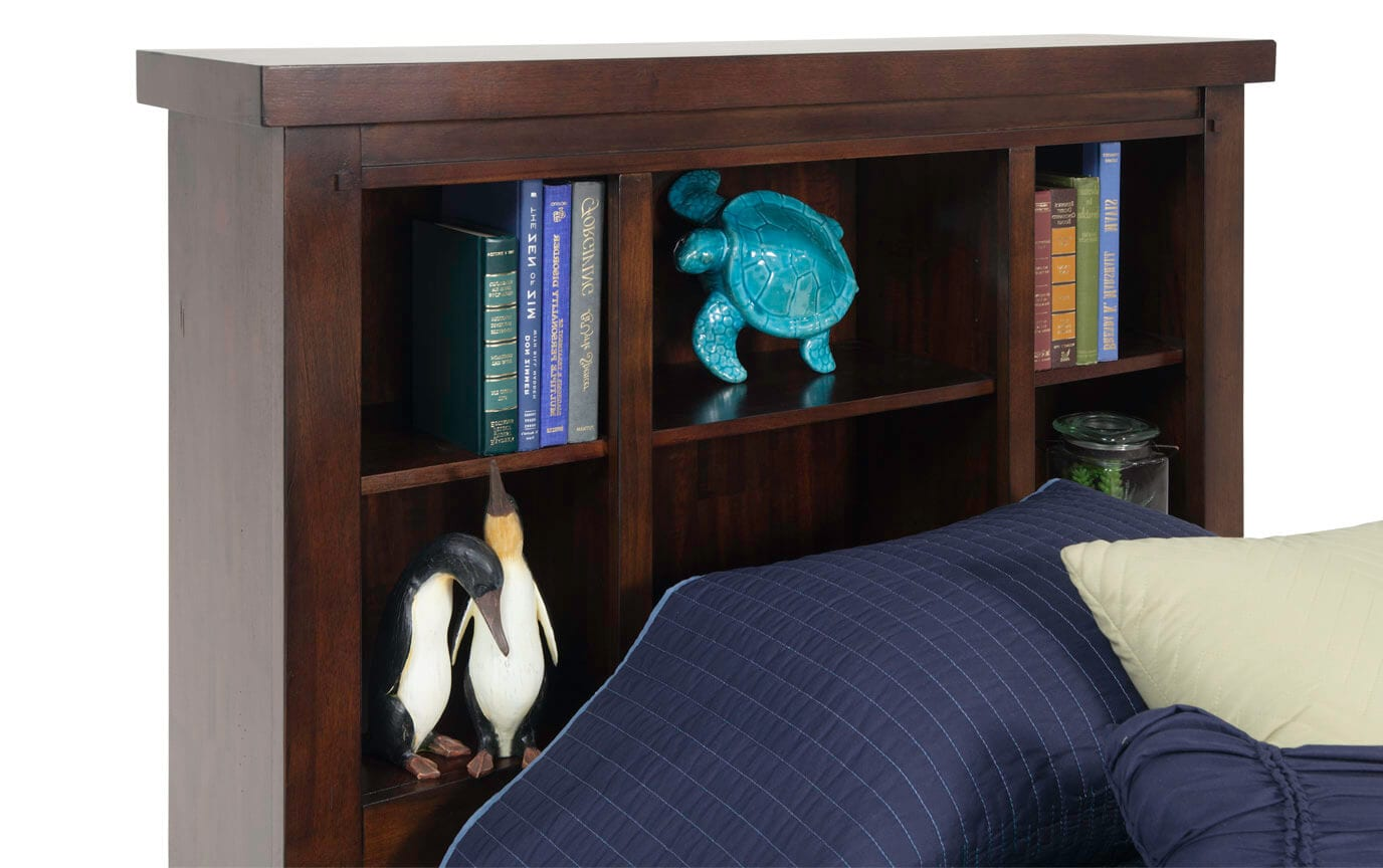 Hudson Youth Full Bookcase Bedroom Set