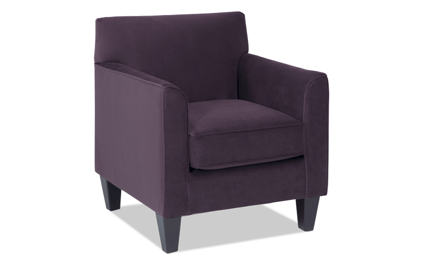Clinton Plum Accent Chair