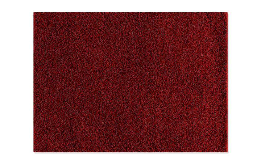 Red Shag Rug 7'5
