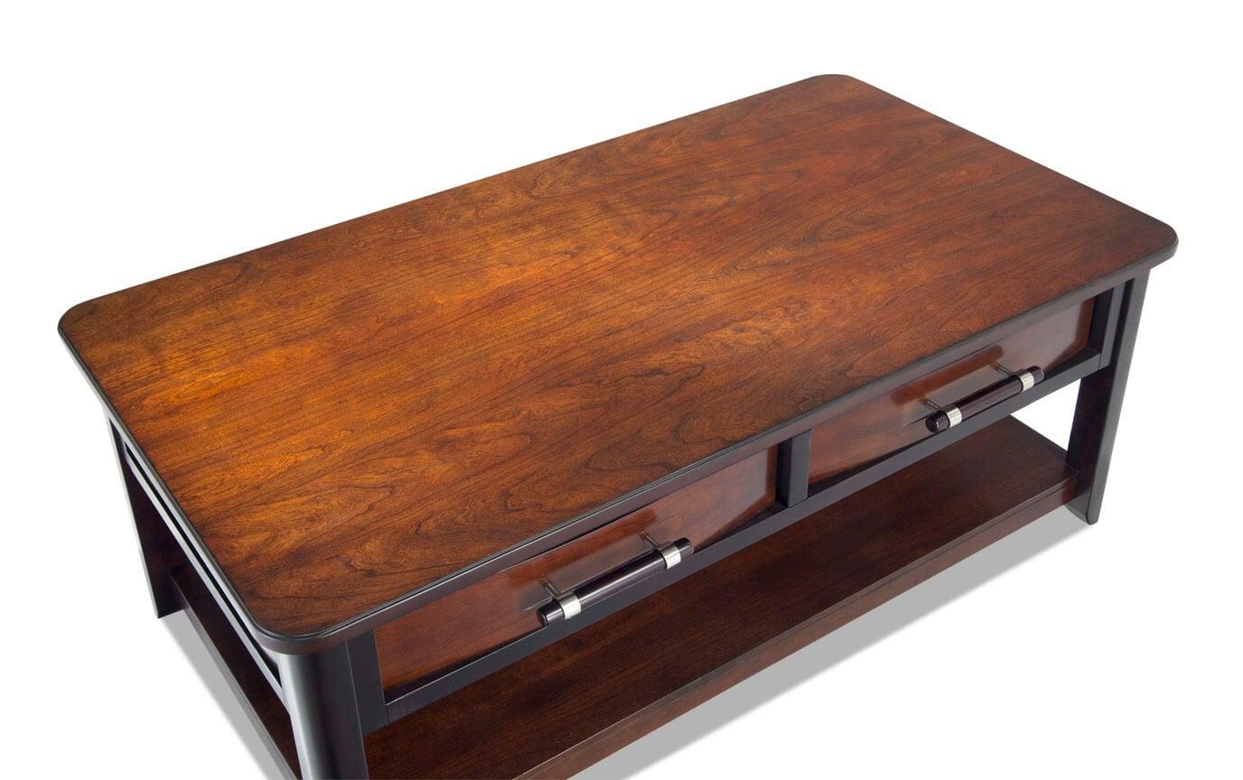 Dream Weaver Cherry/Espresso Coffee Table