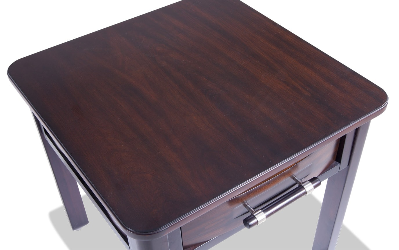Dream Weaver Cherry/Espresso End Table