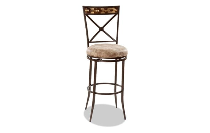 Milo Swivel Bar Stool