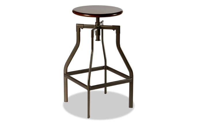 Lennox Adjustable Backless Stool