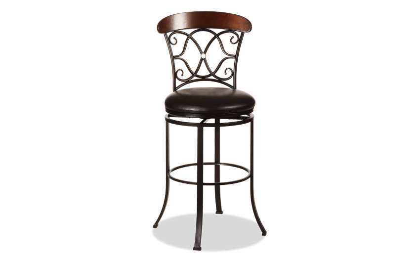 Excellent Bobs Swivel Chairs Bobs Big Boy Checkered Padded Swivel Bar Creativecarmelina Interior Chair Design Creativecarmelinacom
