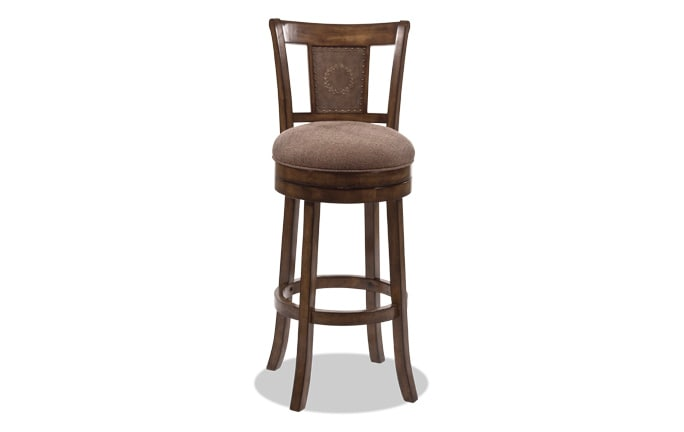 Bennington Swivel Bar Stool