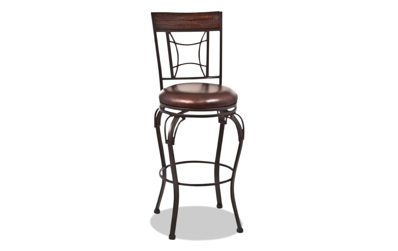 Alfred Counter Swivel Stool